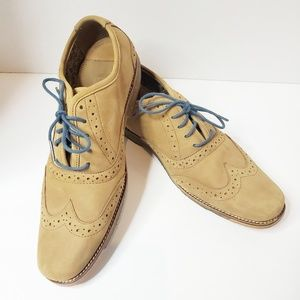 J Shoes Charlie Oxfords Men's Dress Shoes 9 Camel